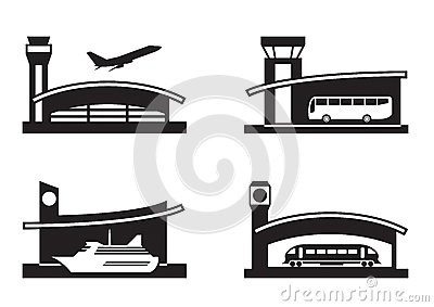 Stations of public transport