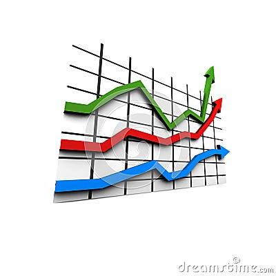 Statistics - multicolor diagram
