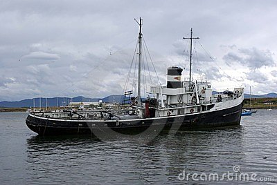 Statku stary ushuaia