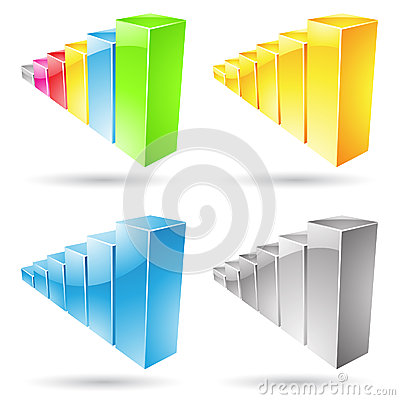 Stats Bars Icons