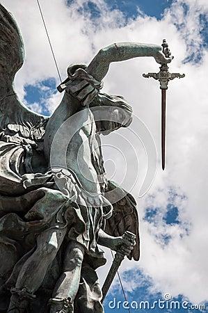 Free Statua Dell&x27;Arcangelo Michele Stock Photos - 77766313