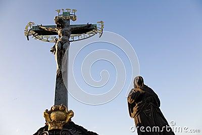 Statuary of the Calvary Cross