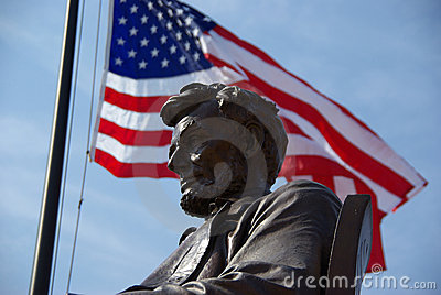 Statue of Abraham Lincoln in Hodgenville