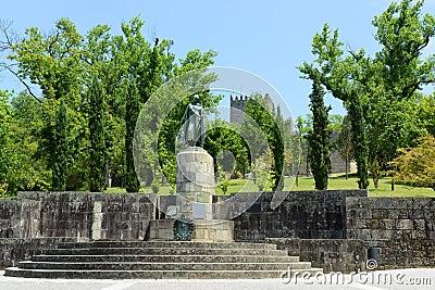 Statue of Afonso I, Guimarães, Portugal