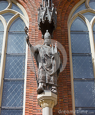 Statue of Bishop Albrecht von Buxthoeven