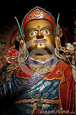 Statue of Buddhist guru Padmasambhava