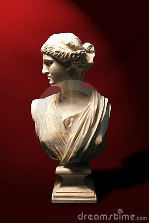 Free Statue Bust Of A Roman Goddess Stock Photos - 677013