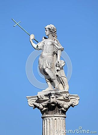 Statue in Cadiz, Spain
