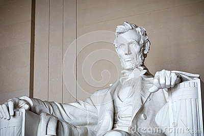 Statue d Abraham Lincoln