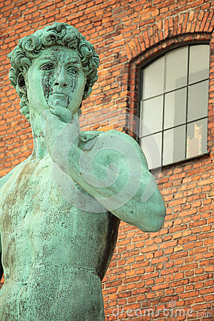 Statue of David in Copenhagen