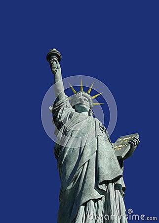 Statue de la liberé à Paris.2