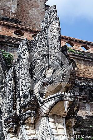 Statue de Naga, Chiang Mai