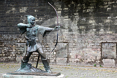 Statue de Robin Hood