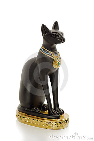 Free Statue Egypt Cat Stock Photos - 13769783
