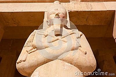 Statue of the Egyptian God Osiris
