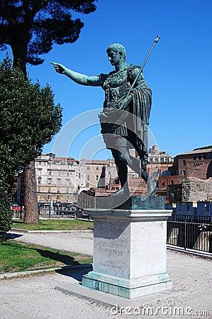 Statue of Emperor Augustus (Rome)