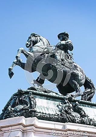 Statue of emperor Franz Joseph I
