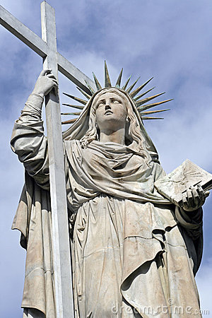 Statue of faith