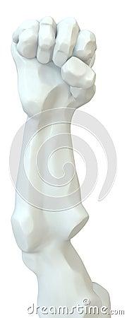 Statue Fist