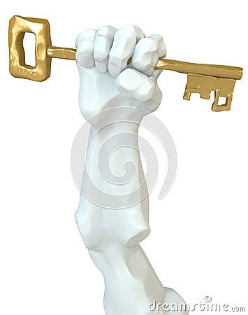 Statue Fist Key