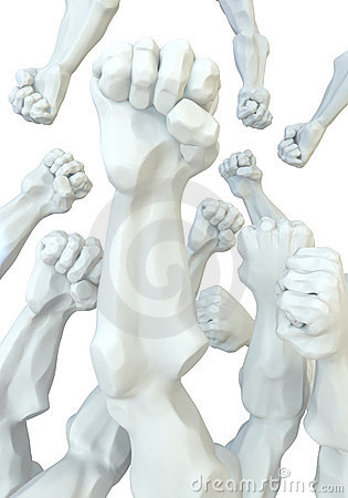 Statue Fists