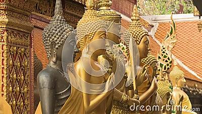 Statue in forma di divinità archivi video