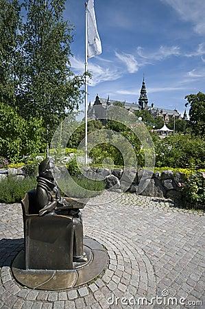 Stockholm Nordic museum surroundings