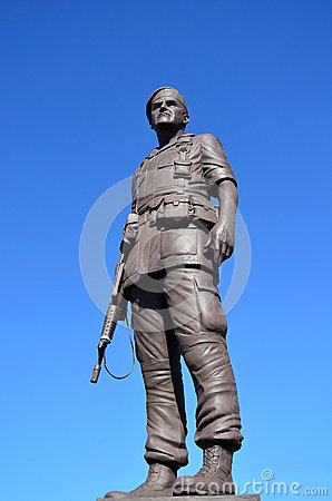 Statue General Henry Hugh Shelton US Army Editorial Photography