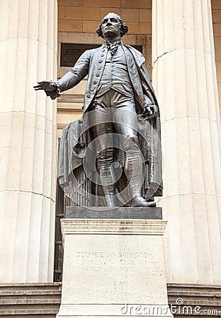 Statue George Washington Federal Hall