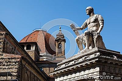 Statue of Giovanni delle Bande Nere