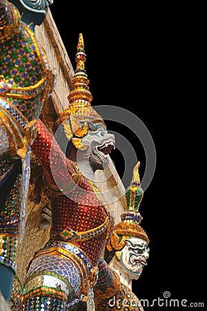 Free Statue In Bangkok, Thailand Stock Photos - 7594183