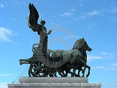 Statue of Italian freedom