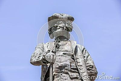 Statue of the Italian playwright Carlo Goldoni, Venice