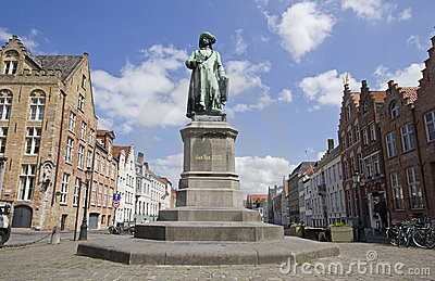 Statue of Jan van Eyck