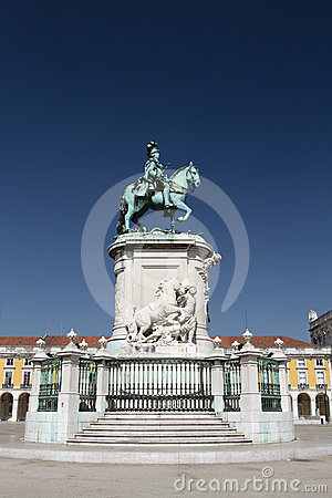 Statue of King José I, Lisbon, Portugal