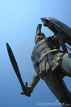 Statue of king Leonidas