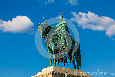 Statue of King St. Stephen, Budapest, Hungary