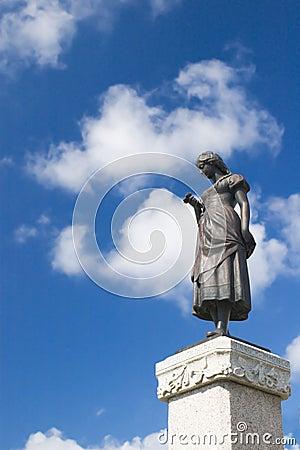 Statue in Klaipeda