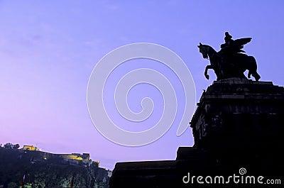 Statue- Koblenz, Germany