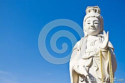 Statue kuanyin of Thailand