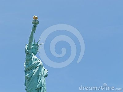 A statue of Liberty