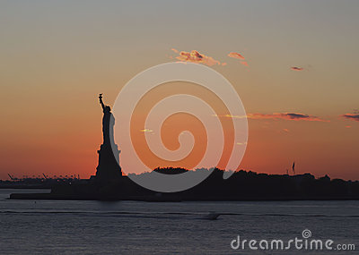 Statue of Liberty Editorial Photo