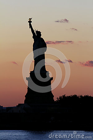 Statue of Liberty Editorial Stock Photo