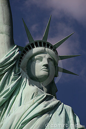 Statue Of Liberty Closeup