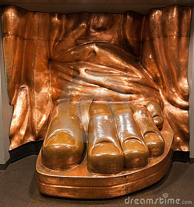 Statue of Liberty Copper Foot New York City