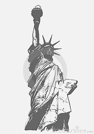 Statue of Liberty, graffiti style