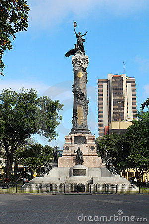 Statue of Liberty in Guayaquil, Ecuador