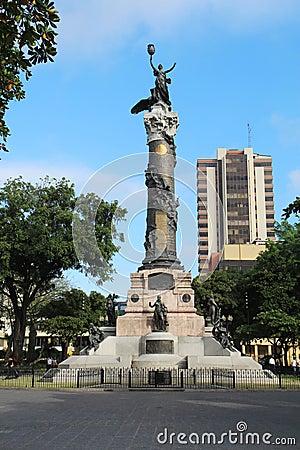 Statue of Liberty in Guayaquil, Ecuador
