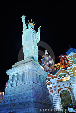 Statue of liberty in Las Vegas Editorial Photography