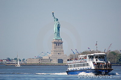 Statue of Liberty, New York City Editorial Photography